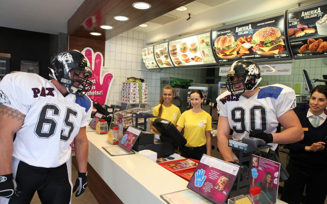McDonalds Promóció